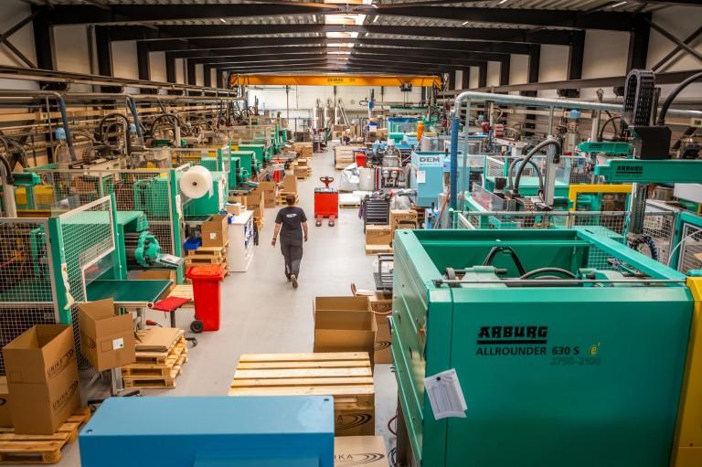 New 500-ton Moulding Machine