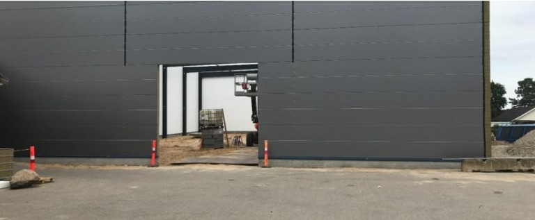 Unika Danmark A/S is building a larger warehouse